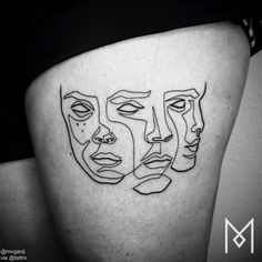 Mo Ganji | Berlin Germany Specializing in custom, single line tattoos.info@moganji.com