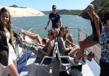 Sundays River Ferry - Experience a unique cruise on the Sundays River Estuary, taking in the breathtaking scenery and views of the local Addo bush and the spectacular Alexandria Coastal Dune Fields, one of the largest in the world. Addo National Park, National Parks, Ferry Boat, Port Elizabeth, Bungee Jumping, Deep Sea Fishing, Adventure Activities, Nelson Mandela, Alexandria