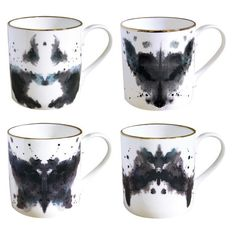 Fox Ink Blot Mug, Buy Unique Gifts From CultureLabel.com ($2... - Polyvore