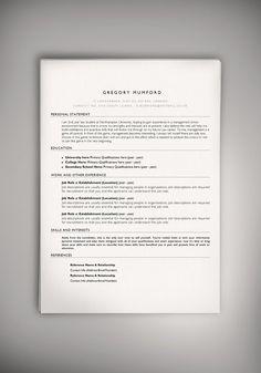 Nice EzraS Folio  Resume Psd Template  Resumes