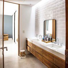 "207 Me gusta, 9 comentarios - Grupo Pauta (@grupopautaarquitectura) en Instagram: ""Un baño compartido 🙌🏻…"""