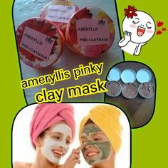 Introduce ameryllis pinky clay mask. Pink clay is for cell renewal, skin rejuvenation and improving elasticity. It is very good for mature skin, broken capillaries, and puffy dark circles under the eyes. It is high in iron oxide and silica and helps to regenerate connective tissues.combinewith grapeseed oil, for repair anti acne anti ageing skin,essential oil ylang-ylang, lavender and eucalyptus, hibiscus and aloevera extract for relaxing and repairing damage skin and inflammation. Price…