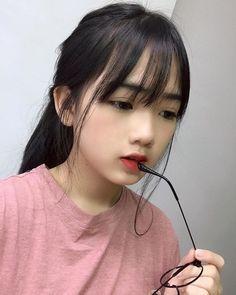 Ulzzang Hair, Ulzzang Korean Girl, Cute Korean Girl, Sassy Girl, Uzzlang Girl, Hey Girl, Beautiful Asian Girls, Beautiful Children, Cute Girl Face