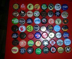 Assortment Of Beer Bottle Caps