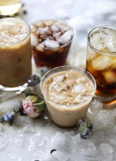 iced coconut coffee soda