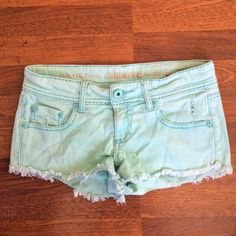 Teal Shorts Always willing to negotiate prices!  Shorts Jean Shorts