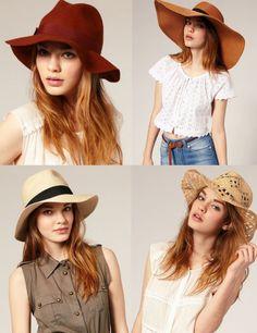 tipos de chapeus