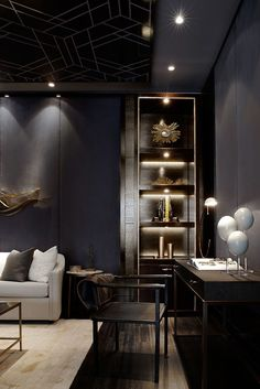 Never underestimate the power of strategically placed lighting. It can enhance the style, and mood, of your space.