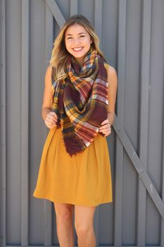 Fall pleated fit and flare dress-more colors