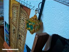 Heloise-miminimundo: Moroccan lamp Tutorial