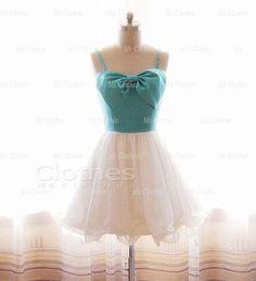 Custom Made White Short Prom Dresses, Dress For Prom, Cheap Prom Dresses, Prom Dress 2014, Homecoming Dresses