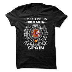 Spain- Romania - #cool gift #gift sorprise. BEST BUY => https://www.sunfrog.com/Funny/Spain-Romania.html?68278