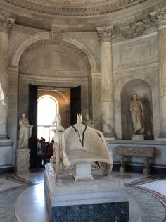 Room of the Chariot, Vatican Museums.