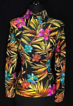 Tropical Horsemanship Shirt by Paula – Just Peachy