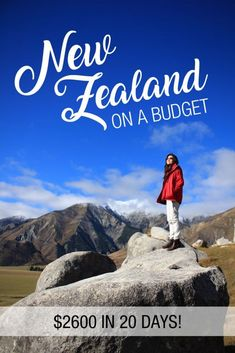 New Zealand on a budget - learn how much to budget for your next NZ road trip!