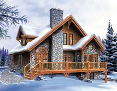 House Plan 65246 | Bungalow Country Craftsman Hillside Vacation Plan with 1625 Sq. Ft., 3 Bedrooms, 2 Bathrooms at family home plans