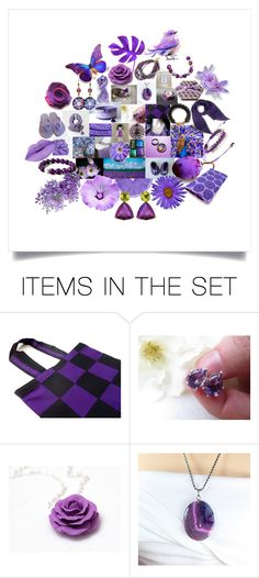 """Fabulous Gifts in Purple"" by crystalglowdesign ❤ liked on Polyvore featuring art"