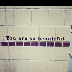 This reminder is found on walls and stair cases all over the University of Arizona.