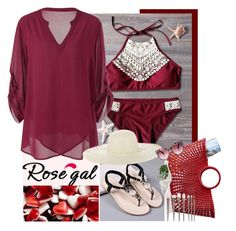 ROSEGAL 2 by missz on Polyvore featuring mode, Jennifer Ouellette, Mark & Graham and Allstate Floral