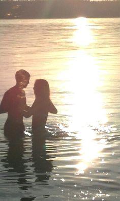 Summer, big water, love. Light my heart on fire.