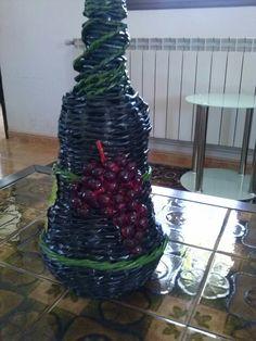 Detalle de las uvas.