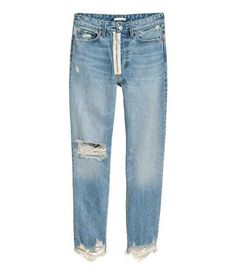 H&M Loose Fit Trashed Jeans