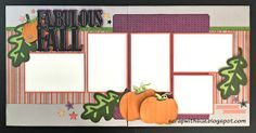 Scrap with Sue: October Club Layouts - Nevermore #ctmhNevermore