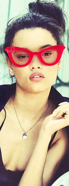 Red | Rosso | Rouge | Rojo | Rød | 赤 | Vermelho | Rot /// Eyewear | Gafas | Lunettes | Occhiali | Spectacles | Specs | Glasses | Frames | Eyeglasses