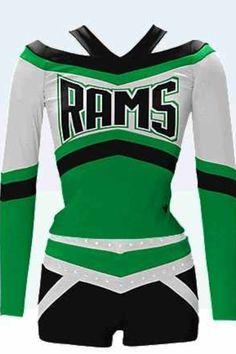Cute cheer uniform | Uniformes | Pinterest