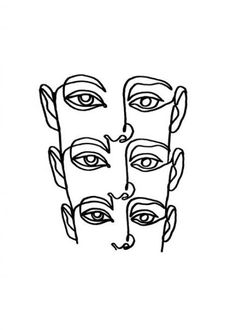 linework von Julia Hariri # linework # artwork # arty # artsy # tattoo # abstract # painting # i . Outline Art, Outline Drawings, Abstract Drawings, Art Drawings, Tattoo Abstract, Painting Abstract, Tattoo Linework, Eye Painting, Abstract Faces