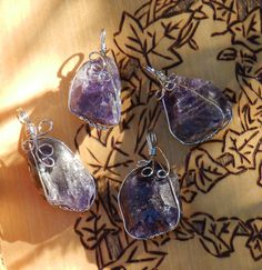 White Magick Alchemy - Amethyst Natural Stone Pendant Necklace . Healing, Change, Protection, Banishing, $9.95 (http://www.whitemagickalchemy.com/amethyst-natural-point-pendant-necklace-healing-change-protection-banishing/)