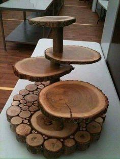 Ideias com troncos!