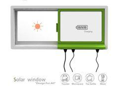 Générateur de fenêtre énergie solaire
