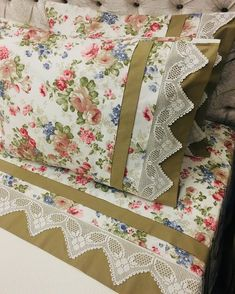 It will add vitality of your old lace to your bed. Draps Design, Bed Covers, Pillow Covers, Bed Cover Design, Baby Sheets, Decoration Bedroom, Baby Pillows, Bedding Sets, Decorative Pillows