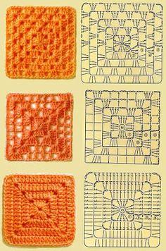 orange granny patterns