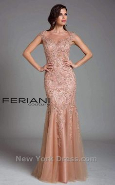 Feriani Couture 26214 Mother of the Bride evening dress. - Mother of the Bride Dresses - Feriani Couture 26214 Mother of the Bride evening dress. - Evening Dresses - Feriani Couture 26214 Mother of the Bride evening dress. Dressy Dresses, Simple Dresses, Bridesmaid Dresses, Prom Dresses, Wedding Dresses, Long Dresses, Trumpet Gown, Mother Of The Bride Gown, Techniques Couture