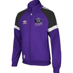 Sacramento Kings Adidas NBA Originals Track Jacket (Purple)