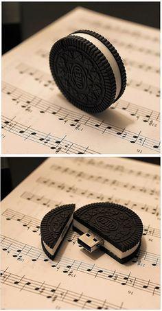 ¿Eres amante de la  galletas #Oreo? Esta  #USB  te va encantar.  www.quintaencinos.com