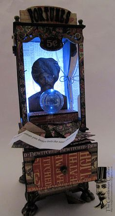 The Gentleman Crafter: New Tutorial and Kits -The Vintage Fortune Telling Machine