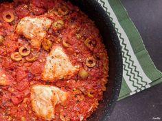 Flavours of Amellia: Španělské kuře s rýží z jednoho hrnce