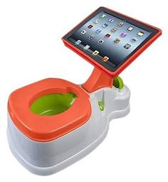 2-in-1 iPotty with Activity Seat for iPad - Free Shipping... Oh Wow! had to share...