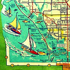 St Petersburg Florida Map.22 Best Florida Beach Wannabe Images Florida Beaches Florida Home