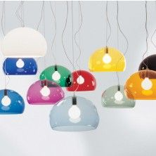 Pendand lights by Kartell