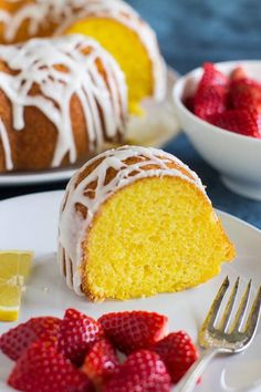 The ultimate Lemon Bundt Cake starts with a cake mix! Add pudding, fresh lemon juice, and a sweet glaze for a truly special dessert.