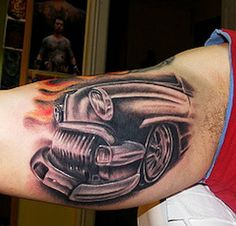 Cool tattoo Ideas For Men Car Image