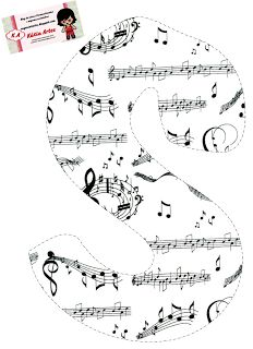 💝 Rylee loves to sing 💝 Alphabet Letter Templates, Letter Symbols, Alphabet And Numbers, Music Clipart, Abc Coloring Pages, Summer Words, Music Themed Parties, Typo Logo, Music Education