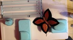 How To Make Butterflies Using The We R Memory Keepers Alphabet punch board