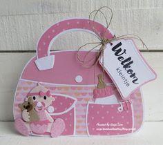 Stampin Up, Album Scrapbook, Baby Girl Cards, Envelope Design, Marianne Design, Cute Cards, Wood Crafts, Stencils, Lily
