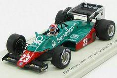 Eddie Cheever, Alfa Romeo 184T, Brazilian GP, 1984, Spark 1/43