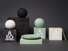 Lovely ceramics and beautiful packaging.